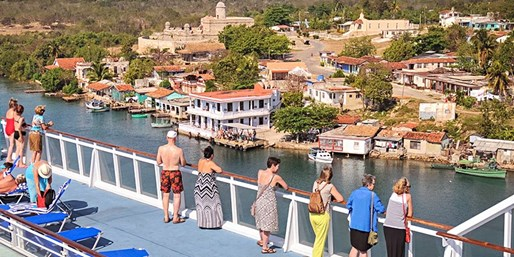 $1999 -- Cruise to Cuba: Cultural Exchanges, Meals & Drinks
