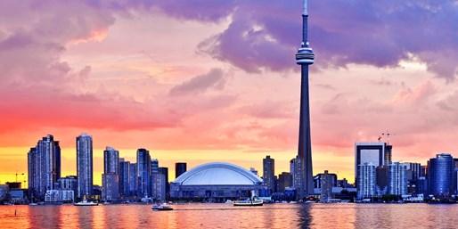 $132* & up -- Boston Fares to Toronto On Sale, One Way