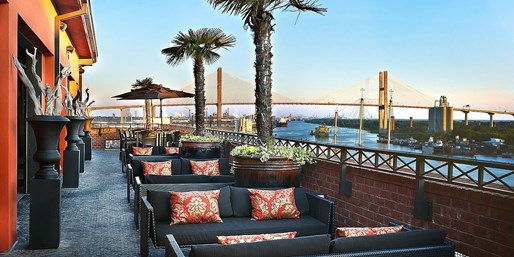 $159 -- Savannah: Luxe Riverfront Hotel in 'Top 10' City