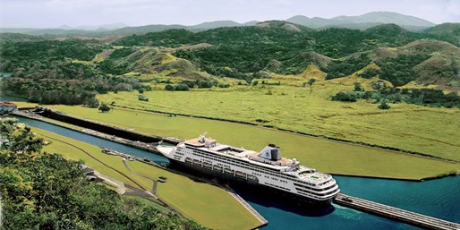 $799 -- Oceanview: 10-Night Panama Canal Cruise on Holland