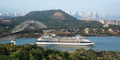 $1899 -- Panama Canal 15-Night Cruise w/$2600 in Extras