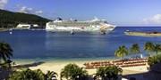 $749 -- Balcony: Caribbean Cruise w/Drinks, Tips, Credit