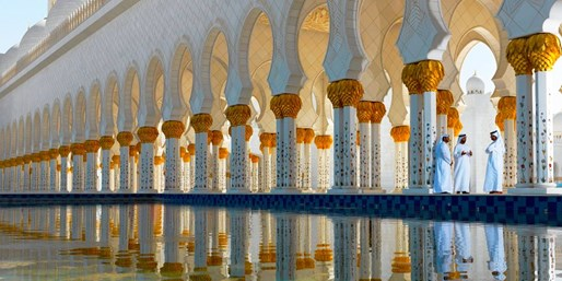 $1799 -- Dubai & Abu Dhabi 7-Night Escorted Tour w/Air