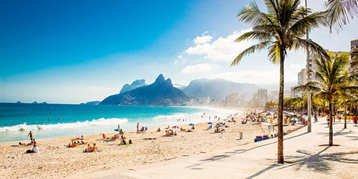 $509* & up -- Brazil Fares from Miami, NYC or Orlando, R/T