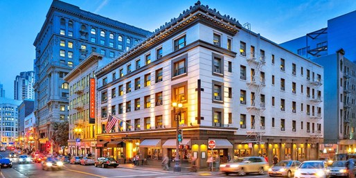 $169-$220 -- San Francisco: Historic Hotel w/Extras, 40% Off