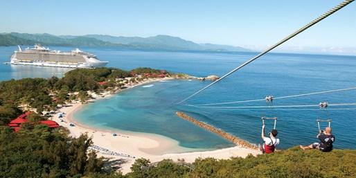$792 -- Balcony on 7-Night Caribbean Cruises w/Tips