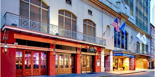 $124 -- Newly Renovated Wyndham New Orleans: Save 55%