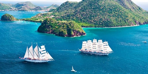 $1299 -- Caribbean 9-Night Yacht & Hotel Package, Save $2300