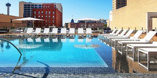 $130 -- San Antonio Opulence: Newly Renovated 5-Star Hotel