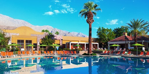 Travelzoo Deal: $99 -- Downtown Palm Springs Hotel thru December, 45% Off