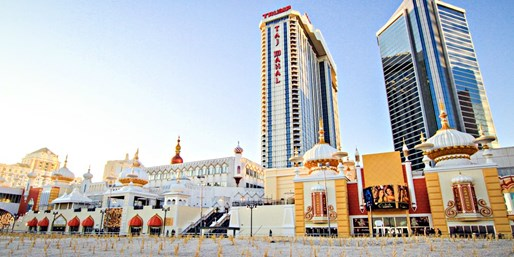 $77 -- Atlantic City: Trump Taj Mahal Stay w/$85 in Credits
