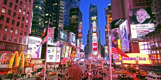 $129 -- Grand Re-Opening: Luxe Times Square Hotel w/Credit