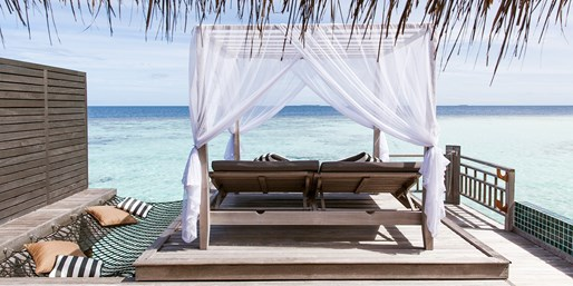 $3390 & up -- Maldives: Luxe Retreat incl. Air & Breakfast