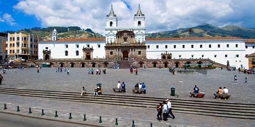 $1838 & up -- 6-Nt. Ecuador Escorted Package w/Air & Hotels