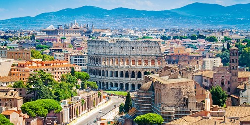 $819 & up -- 7-Nts. Rome Florence & Venice w/Air & Train