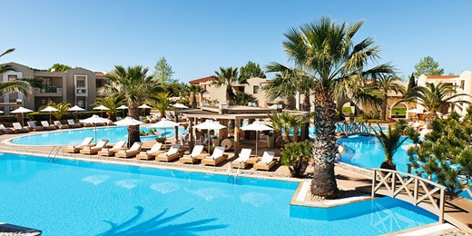 £399pp -- Greece: Week at 5-Star Sani w/Flts, Meals & Suite