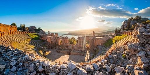 £499pp -- Sicily Tour inc Flights, Meals, Transport & Guide
