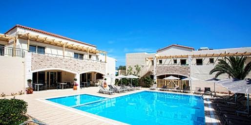 £399pp -- All-Inc Crete Week at Brand-New Beachfront Hotel