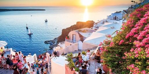£299pp -- Santorini Escape w/Flights & 'Million-Dollar View'