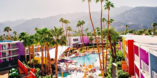 $70 -- Trendy Palm Springs Escape w/Waived Resort Fee
