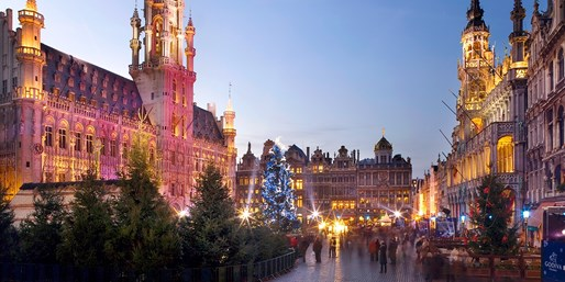 £259 -- Brussels: 3-Nt Christmas Market Weekend w/Eurostar