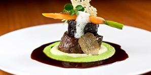 39 € -- Mitte: Edles Rinderfilet-Menü im besten Luxushotel