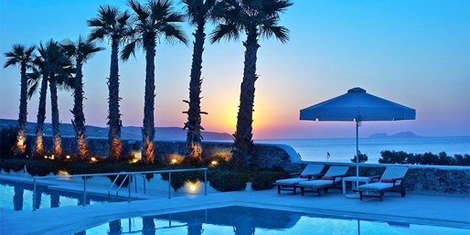 £599pp -- Luxury Mykonos Holiday w/Suite & Meals, Save 53%