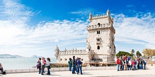 £269pp -- Lisbon & Porto Escape w/Flights, Train & Tours