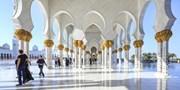 ab 564 € -- Luxuswoche in Abu Dhabi mit Halbpension & Flug