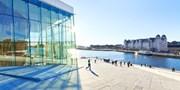 199 € -- Oslo: 5 Tage mit Mini-Kreuzfahrt ab Kiel, -240 €