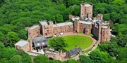 £135 -- Cheshire Medieval-Style Castle Stay inc Dinner