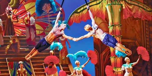 $64 -- Orchestra Seat: New Cirque du Soleil Show on Broadway