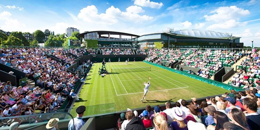 £159pp & up -- Wimbledon 2017 Tennis Break with 4-Star Hotel