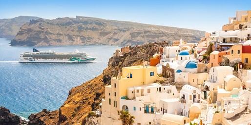 899 € -- Frühlingskreuzfahrt im Mittelmeer mit Flug, -680 €