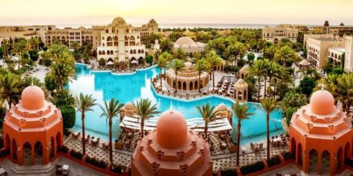 449 € -- Makadi Bay: Schnorcheln & All Inclusive im 5*-Hotel