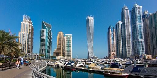 ab 599 € -- Luxus pur: Dubai-Trip in atemberaubendes Hotel