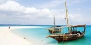 ab 1249 € -- Sansibar: Traumurlaub am weißen Strand