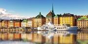 ab 222 € -- 4 Tage Stockholm auf Hotelschiff inkl. Flug