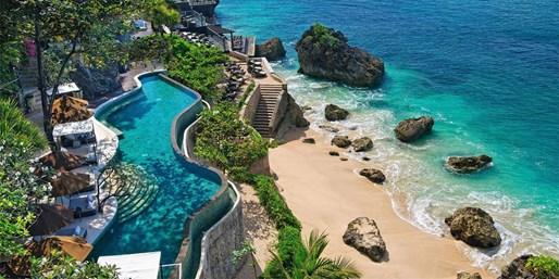 ab 1555 € --Luxusurlaub auf Bali in atemberaubendem Hotel