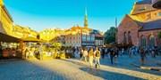 ab 189 € -- Riga: 5 Tage im 4*-Hotel mit Frühstück & Flug