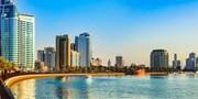 ab 604 € -- Luxuswoche V.A. Emirate: 5* Hilton Hotel  & Flug