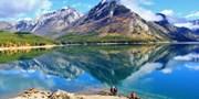 $60 -- One-Hour Banff Lake Minnewanka Canadian Rockie Cruise