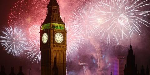 399€ -- Nouvel An à Londres avec billets train et hôtel