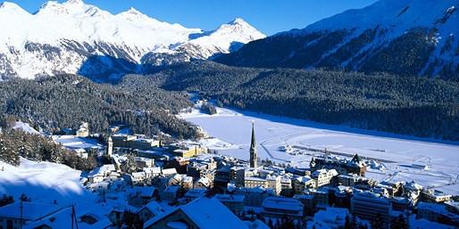 1099 € -- St. Moritz: 1 Woche All-Incl.-Skiurlaub, -300 €