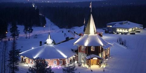 $6,990 起 -- 夢幻之旅!直飛芬蘭機票+ 2 晚聖誕老人村住宿 極光大狩獵