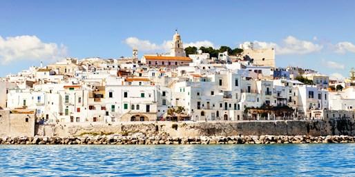 898 € -- Süditalien: 11 Tage Apulien mit Rom & Amalfi, -200€