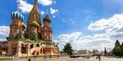999 € -- Moskau & St. Petersburg mit Wolga-Kreuzfahrt, -400€