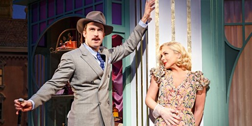 Laura Benanti, Zachary Levi & Jane Krakowski on Broadway