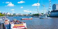£9 -- Hop-on, Hop-off Thames Riverboat Cruise, Save 44%