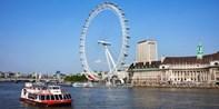 ¥78 -- 5.5折 伦敦泰晤士河游船单日票 即上即下 畅游伦敦景点 含英文语音导览